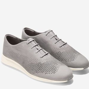 Women's 2.ZERØGRAND Laser Wingtip Oxford 7.5 New